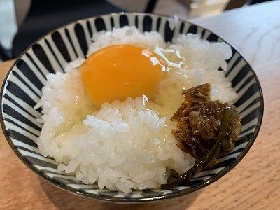 龍野 クラテラス ランチ 卵かけご飯