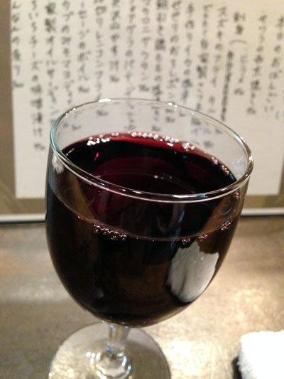 加古川 立呑み うさや グラスワイン 赤