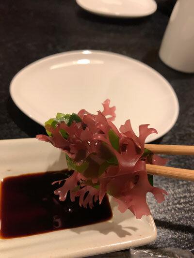 姫路 麺酒屋 からから 海草