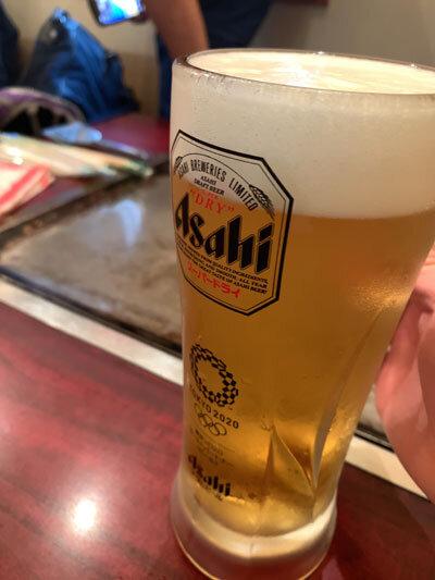 姫路 妻鹿 お好み焼き えのき 生ビール