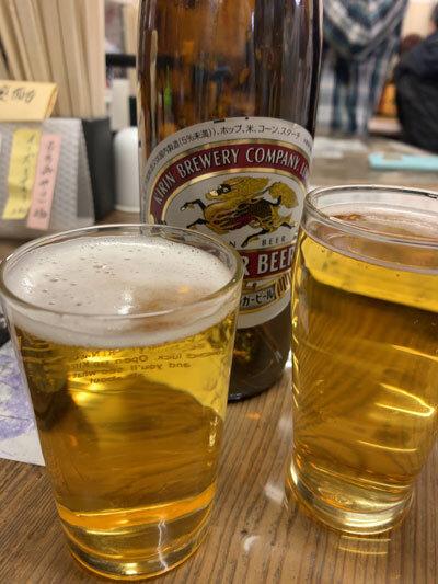 西明石 立呑み 地酒 瓶ビール
