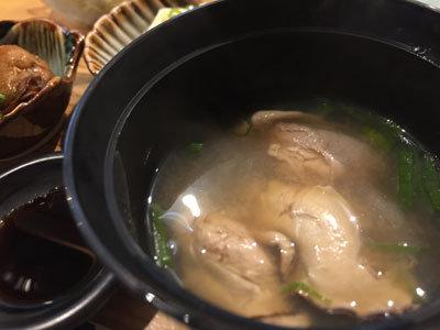 姫路 貝屋 マルホウ 吉田水産 牡蠣味噌汁