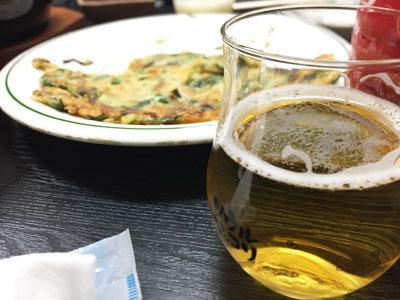 神戸 長田 韓国料理 釜山 ビール