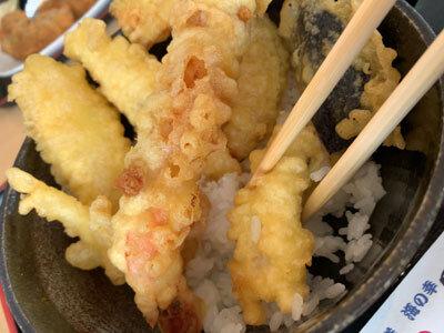 姫路 天晴水産 みのり家 天ぷら丼