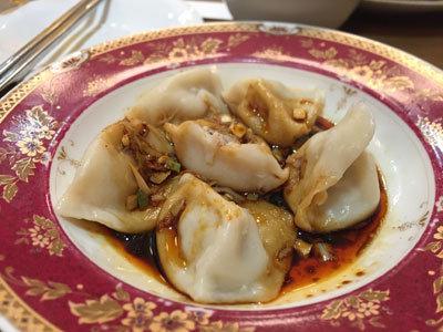 明石 四川料理 天府真味 水餃子