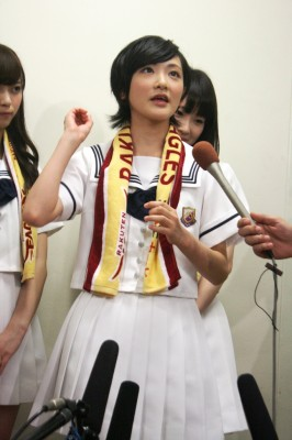 乃木坂46 生駒里奈 楽天 12連勝おめでとう 田中 まーくん