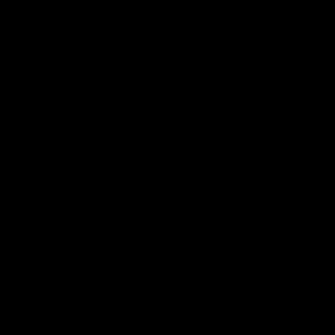 背景屋の蝶(シルエット)01