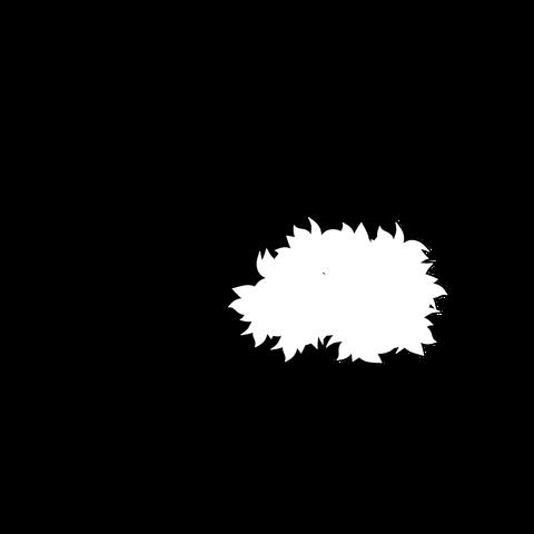 草の塊(葉がトゲトゲ)001