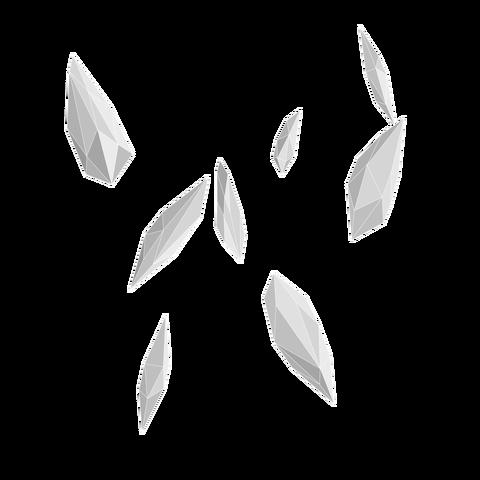 背景屋の結晶の破片10