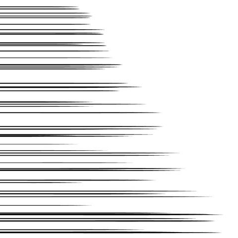 スピード線 濃いめ013
