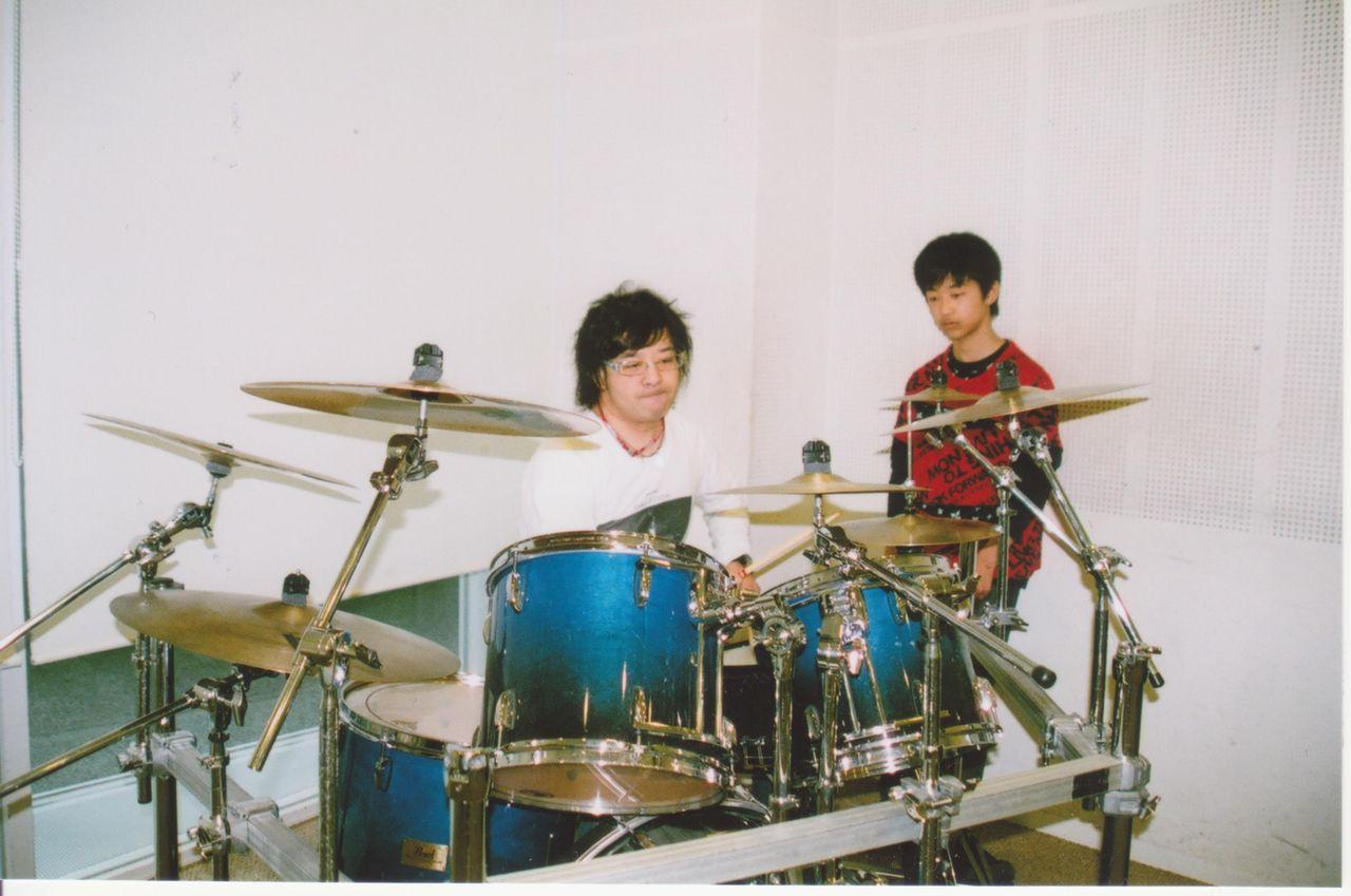 ドラム練習 001