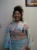 沙也香さん成人式