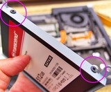 トランセンド,SSD交換,TS512GSSD320