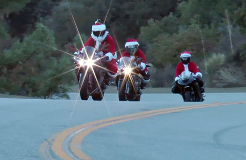 santa-motorcycle-video