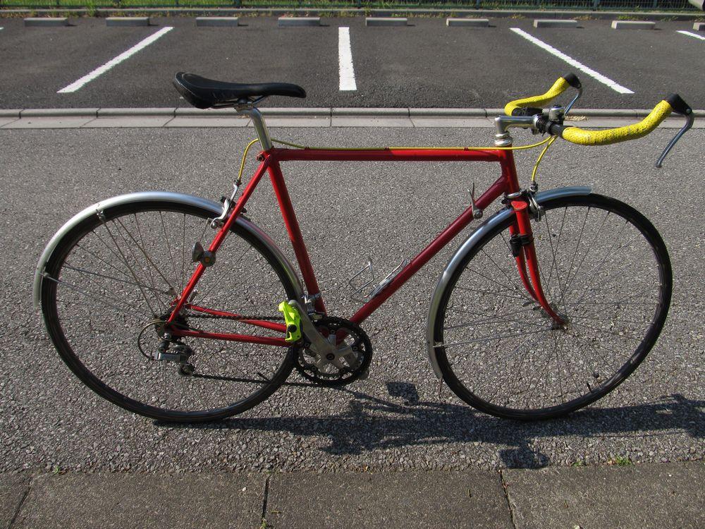 フジ号のハンドル交換 : 自転車 ...