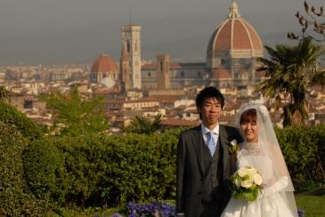 フィレンツェからの写真