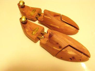 木製シューキーパー 靴のケア用品