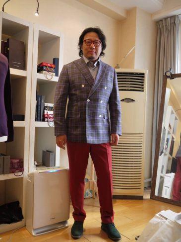 中国 スーツ