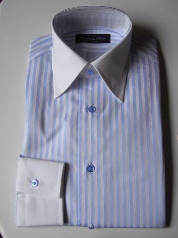 ルイジボレッリのようなクレリックシャツをオーダー