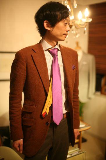 ネクタイの太さ 選び方4