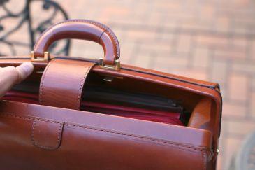 大挟製鞄 ダレスバッグ3