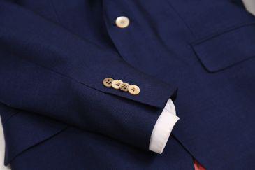 ウールモヘアジャケット 紺ジャケットコーディネート3