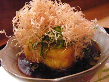 京都の京料理、割烹かつ竹の湯豆腐