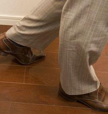 パンツ、スラックスの裾 ダブルの由来