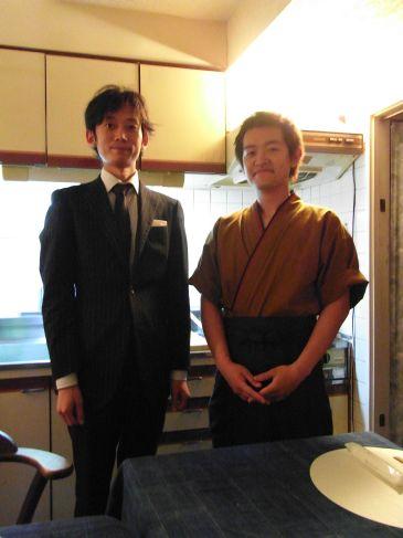 築地の寿司屋、酢飯屋の大将と