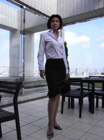 デューク更家さん弟子、小野寺MARIKOさんシャツ