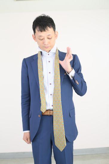 ネクタイの結び方 ダブルノット002