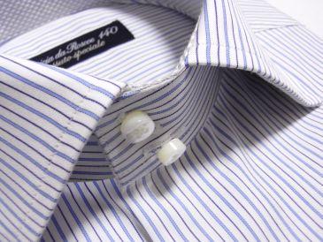 デュエボットーニの衿シャツ
