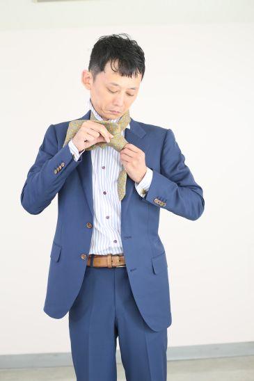 ネクタイの結び方 ダブルノット010