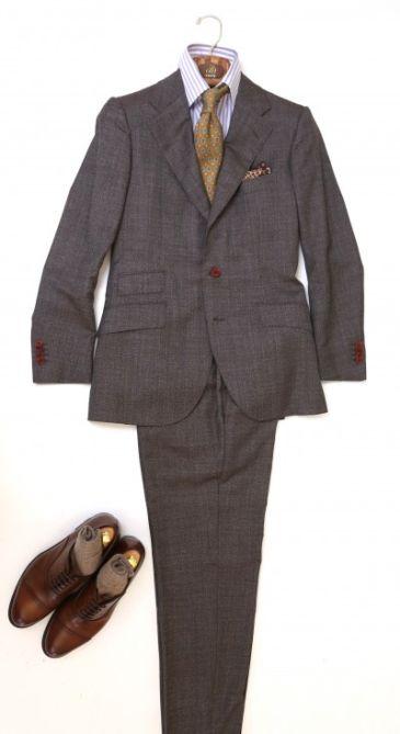 君津出張のスーツスタイル