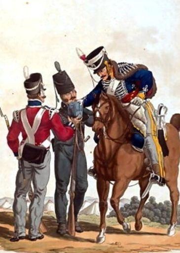 タキシード側章の由来 ナポレオン軍