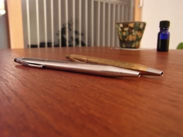 クロスのボールペン