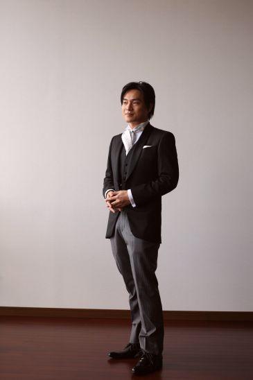 上田さまタキシード写真 赤坂スカイラウンジ008