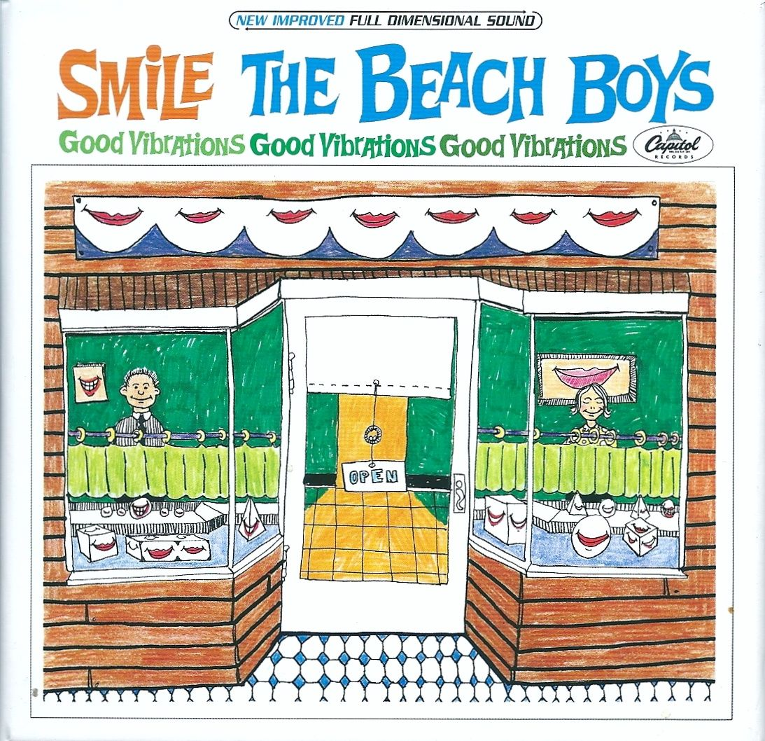 The Beach Boys CD Smile ... クモスケ運ちゃんのブログ : ザ・ビーチ