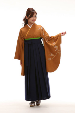 カラシ着物・袴
