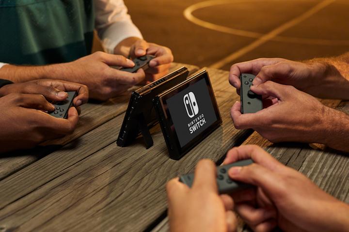 任天堂Switch 携帯モード