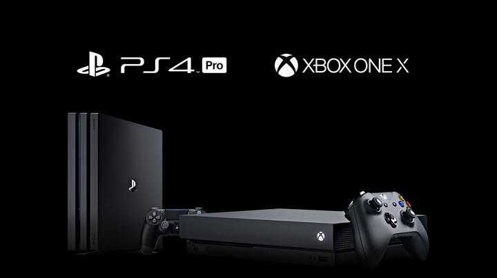 PS4PRO XBOX ONE X
