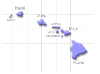 ハワイ 諸島