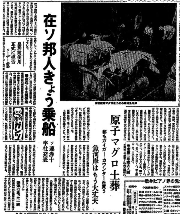 読売新聞 原子マグロ