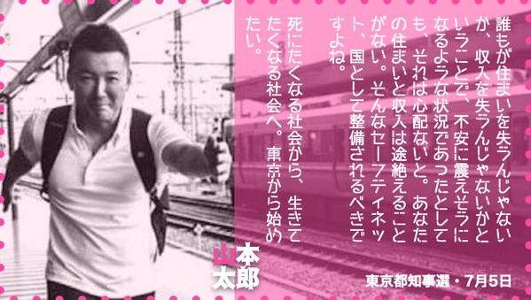 山本太郎住い