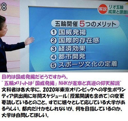NHKが国威発揚