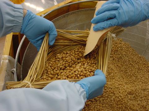 煮豆の仕込み2
