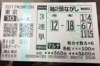 日本ダービー馬券