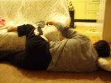 布団で眠れ!