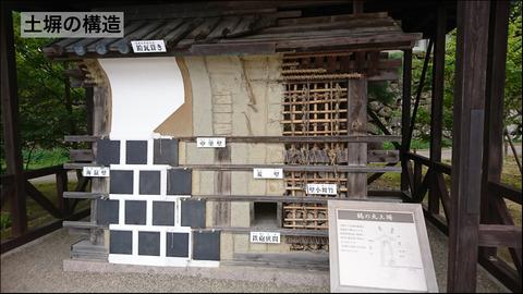 土塀の構造