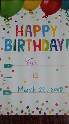 yui card